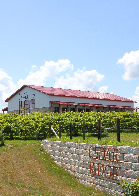 Cedar ridge winery distillary indulge for Cedar ridge